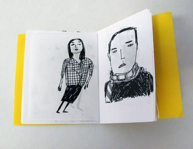 stylish people mini zine5